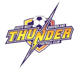 South West Queensland Thunder FC Logo